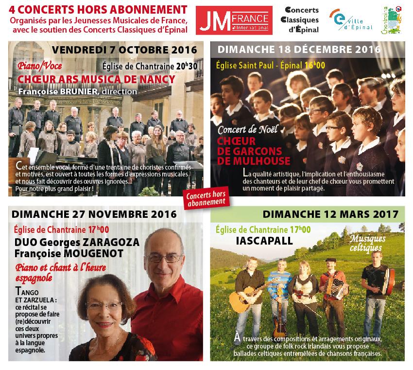 Concerts Jeunesses Musicales de France